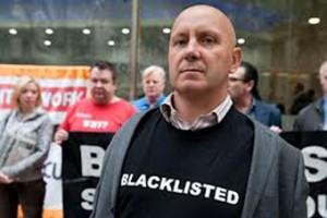 Blacklisted construction worker Dave Smith