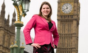 Lib Dem minister Jo Swinson - getting ready to take your employment rights away.