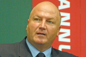 Bob Crow, President of the Campaign For Trade Union Fredom