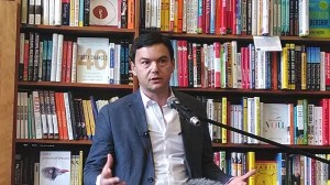 Thomas Piketty in Cambridge.