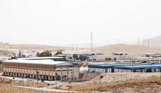 Mishor Adumim Industrial Zone Photo by Emil Salman