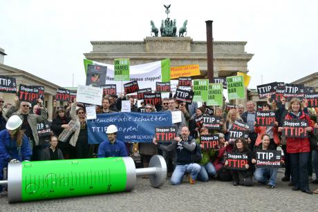 TTIP protest in Berlin. [Mehr Demokratie/Flickr]