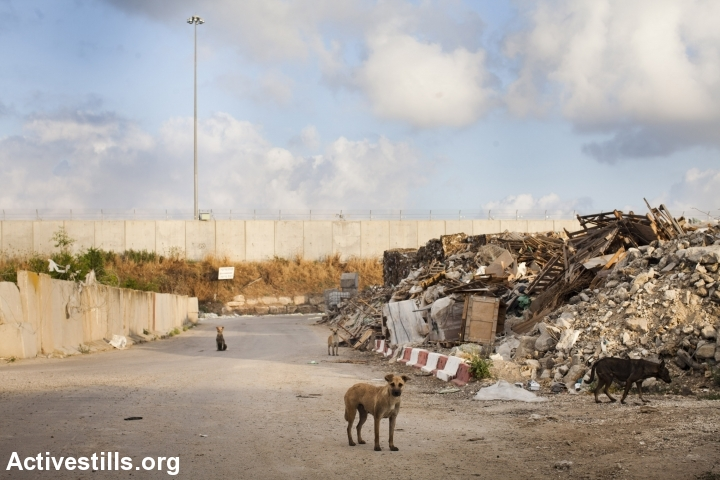 Nitzanei Shalom Industrial Zone. (Photo: Oren Ziv/Activestills.org)
