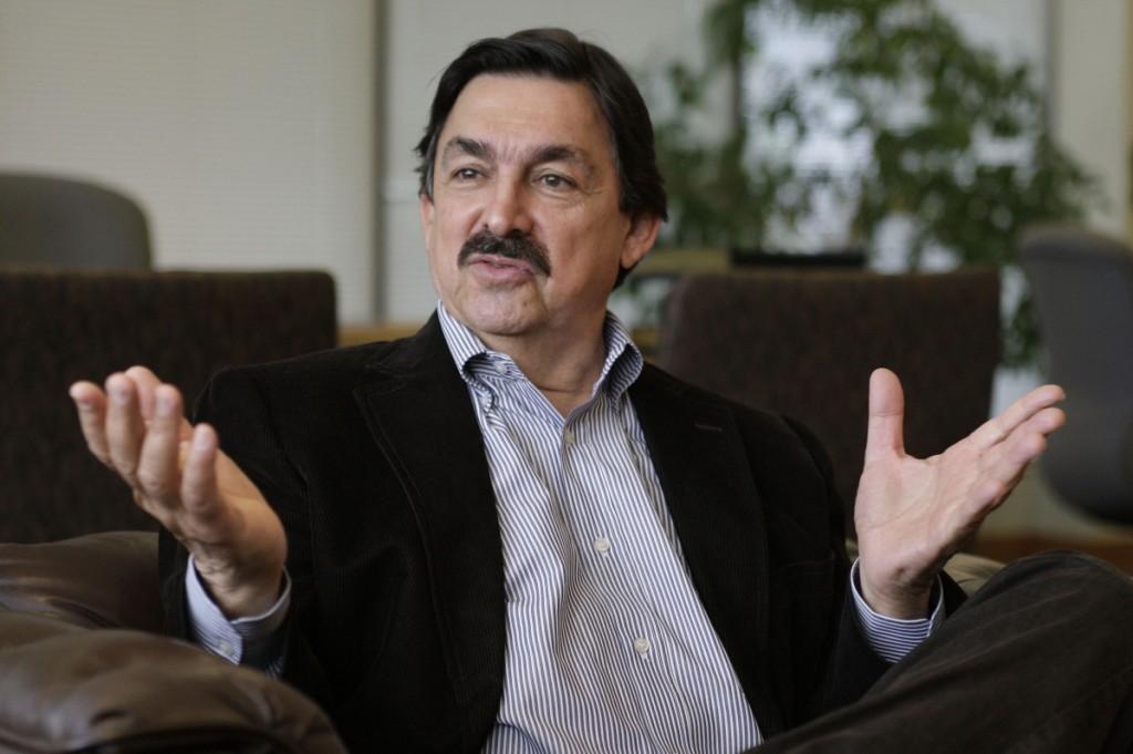 Napoleon Gomez, the head of Mexico's metals and mining union, Los Mineros