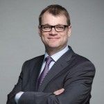 Finnish PM Sipilä  - attacking trade union rights and collective bargaining.