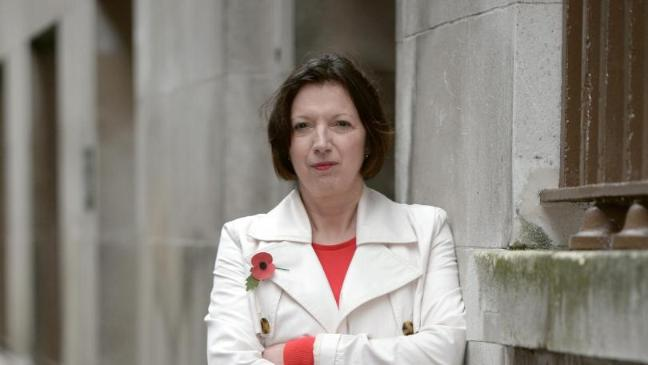 TUC General Secretary, Frances O'Grady - taking the fight into the Lords