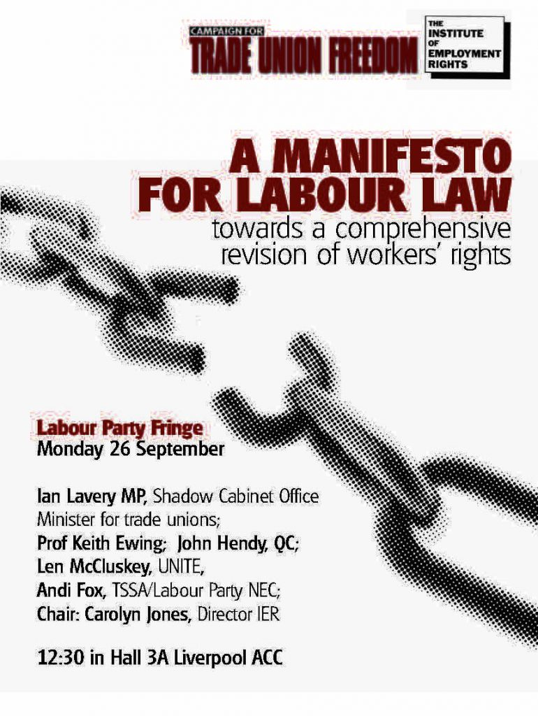 CTUF Labour A5 flyer